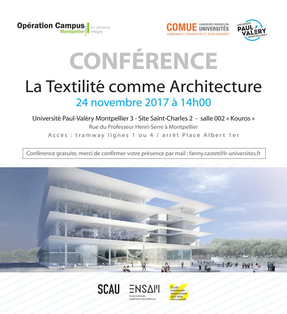 V2 invitation la textilité comme architecture